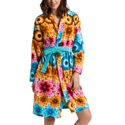 Mandala Bathrobe Size: Large