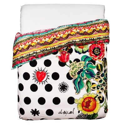 Polka Dot Twin Duvet Cover