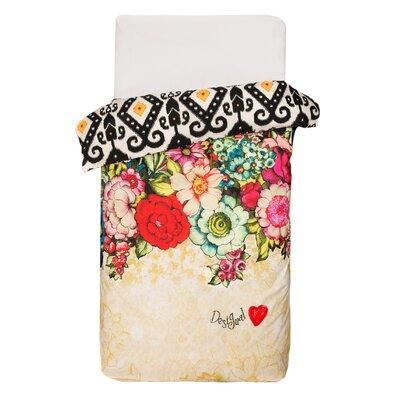 Lovely Garden Duvet Cover Size: Twin