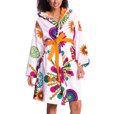 Moon Bathrobe Size: Medium