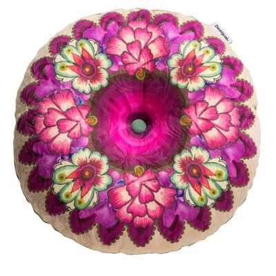 Happy Blossom Cotton Floor Pillow