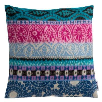 Folk Cotton Throw Pillow