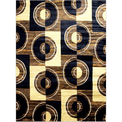 Super Mega Brown Area Rug Rug Size: 710 x 102