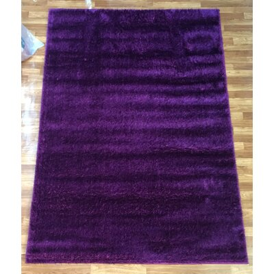 Gloria Purple Area Rug Rug Size: 28 x 77