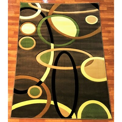 Rosa Brown Area Rug Rug Size: 710 x 102