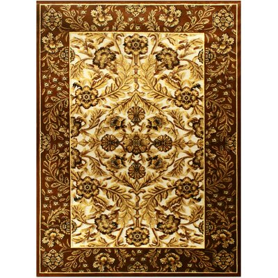 Shonil Beige Area Rug Rug Size: 53 x 75