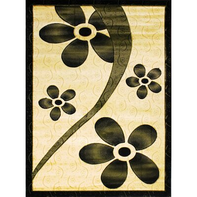 Labella Green Area Rug Rug Size: 53 x 75