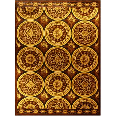 Shonil Brown Area Rug Rug Size: 710 x 102