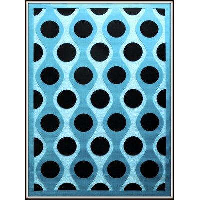 Shonil Blue Area Rug Rug Size: 710 x 102