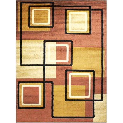 Super Mega Brown Area Rug Rug Size: 53 x 73