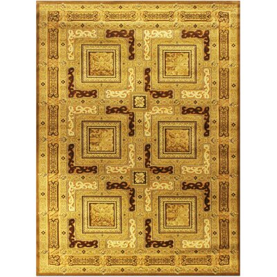 Shonil Beige Area Rug Rug Size: 710 x 102