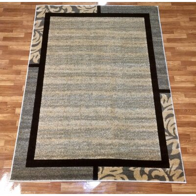 Istanbul Beige Area Rug Rug Size: 710 x 102