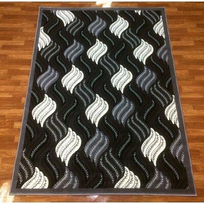 Crystal Gray Area Rug Rug Size: 710 x 102