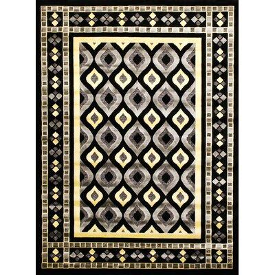 Shonil Gray Area Rug Rug Size: 53 x 75