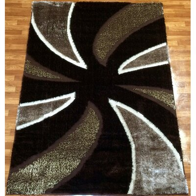 Gloria Brown Area Rug Rug Size: 710 x 102