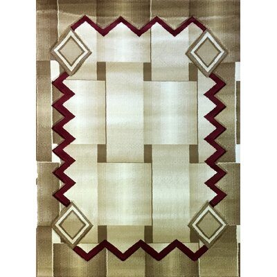 Labella Red Area Rug Rug Size: 311 x 53