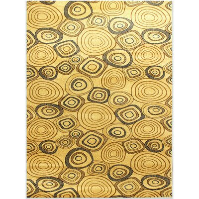 Super Belkis Cream Area Rug Rug Size: 53 x 75