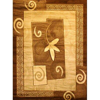 Labella Gold Area Rug Rug Size: 710 x 102