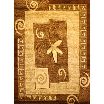 Labella Gold Area Rug Rug Size: 311 x 53