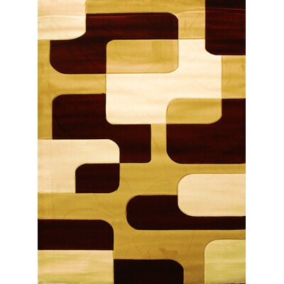 Labella Brown Area Rug Rug Size: 311 x 53