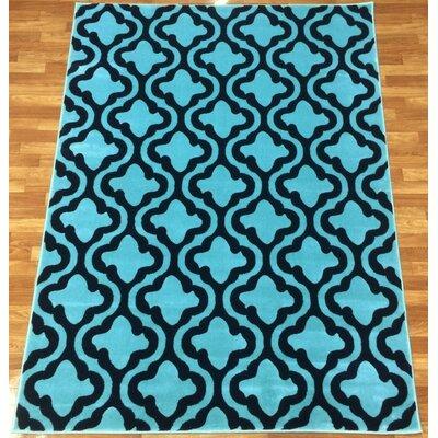 Liza Blue Area Rug Rug Size: 710 x 102