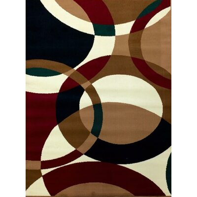 Sevyn Brown Area Rug Rug Size: 710 x 910
