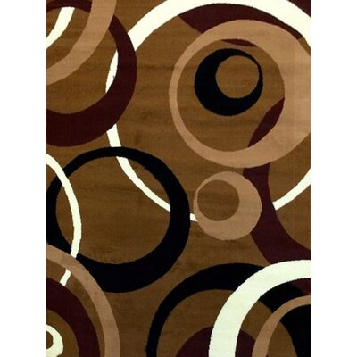 Sevyn Brown Area Rug Rug Size: 5 x 7