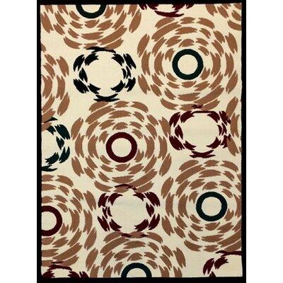 Sevyn Beige Area Rug Rug Size: 710 x 910