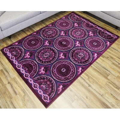 Shonil Lila Area Rug Rug Size: 710 x 102