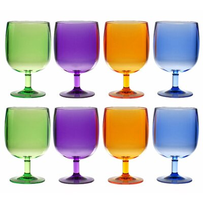 Degroot Stackable 12 oz. Tumbler Finish: Blue/Orange/Green/Purple