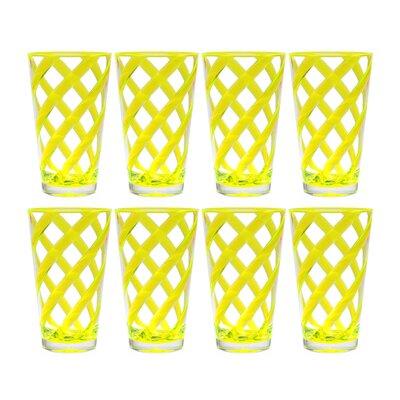 Glenorie Stripes 22 oz. Plastic/Acrylic Ice Tea Cup 5A2724E4FDB0403680A14CB302CB309D