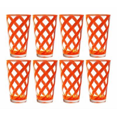 Glenorie Stripes 22 oz. Plastic/Acrylic Ice Tea Cup B48F3669AD2641739C30D0C6469397C7