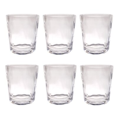 Southmead Old Fashioned 14 oz. Plastic Every Day Glass Color: Clear LDER6367 42975648