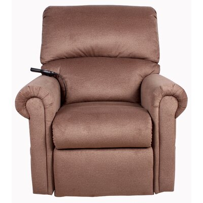 Windham Power Lift Assist Recliner Upholstery: Toast, Massaging/Heating: Yes