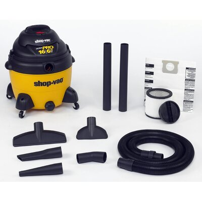 Shop-Vac&#174 16 Gallon 6 HP Wet/Dry Shop-Vac�  955-16-00 at Sears.com