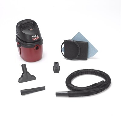 Shop-Vac&#174 1.5 Gallon 2.0 Peak HP Hang On Wet / Dry Vacuum at Sears.com