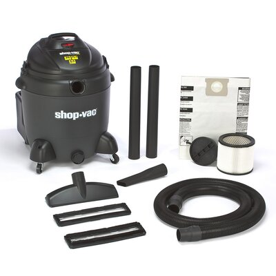 Shop-Vac&#174 20 Gallon 6.5 Peak HP QSP Quiet Deluxe Wet / Dry Vacuum at Sears.com