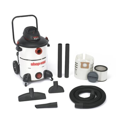 Shop-Vac&#174 Stainless Steel Series 16 Gallon Wet Dry Vacuum Cleaner at Sears.com