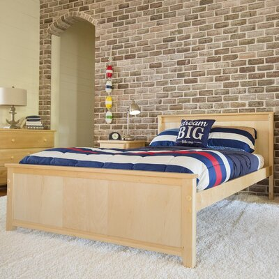 Panel Bed Size: Full, Finish: Natural