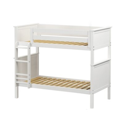Bunk Bed Size: Twin over Twin, Bed Frame Color: Natural