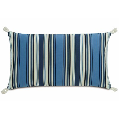 Sail Away Stripes Lumbar Acrylic Pillow