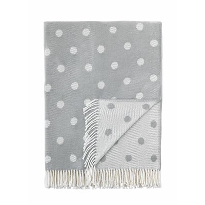 London Throw Blanket Color: Gray