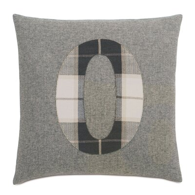 Digits 0 Cotton Throw Pillow