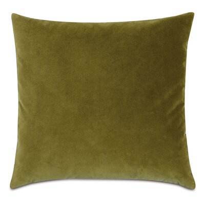Plush Cotton Throw Pillow Color: Citron