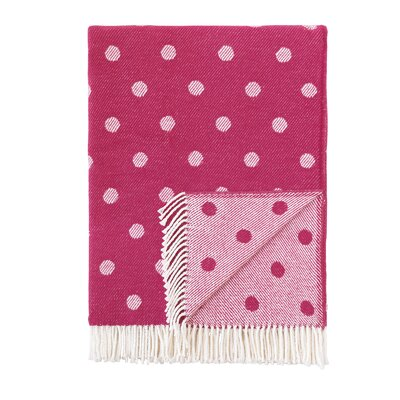 London Throw Blanket Color: Pink