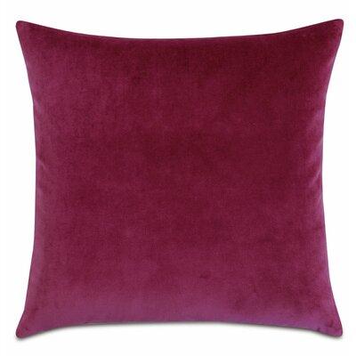 Plush Cotton Throw Pillow Color: Magenta