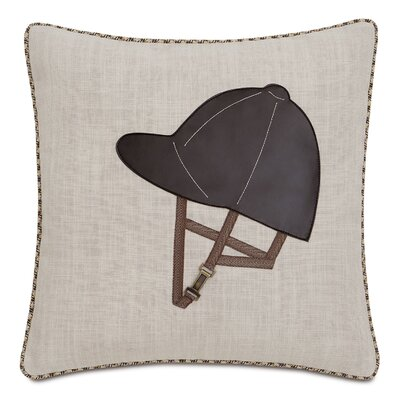 Equestrian Brumby Linen Throw Pillow