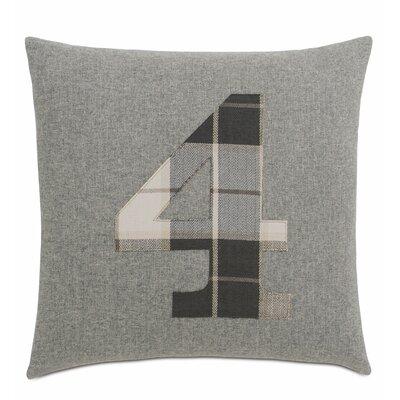 Digits 4 Cotton Throw Pillow