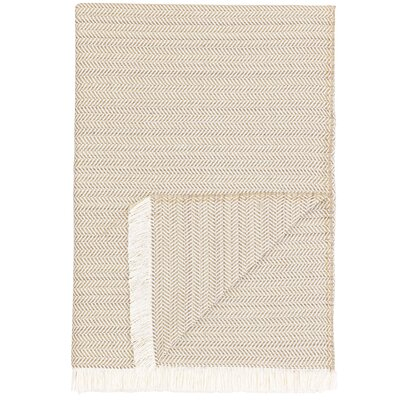 London Throw Blanket Color: Pale Yellow