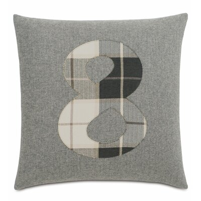 Digits 8 Cotton Throw Pillow